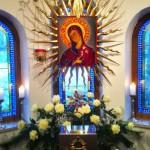 Ikone der Gottesmutter in der Marienkapelle