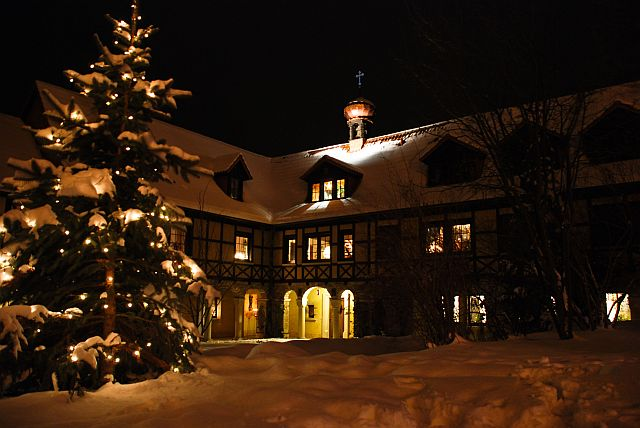 Weihnachten im St. Wigberti-Kloster
